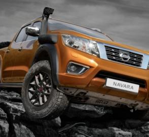 Nissan Navarra получил спецверсию с увеличенным клиренсом