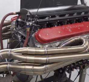 Как звучит мотор V12 объемом 9,5 литров
