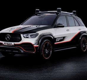 Mercedes-Benz представил концепт безопасного автомобиля