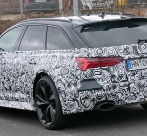 Новый RS6 от Audi засняли в окончательном виде