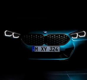 Первые фото нового маленького седана BMW
