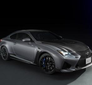 Lexus RC F получил «юбилейную» спецверсию