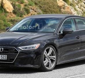 Новая Audi S7 выехала на финальные тесты
