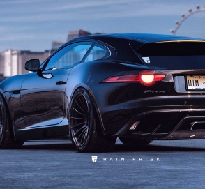 Jaguar F-Type превратили в универсал Shooting Brake
