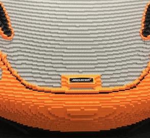 McLaren построит полноразмерный суперкар из Lego