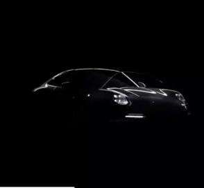 Porsche показала на видео новый 911