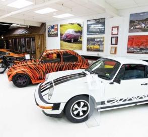 На аукцион выставлена коллекция из более 30 редких Volkswagen и Porsche
