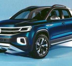 Volkswagen привёз концептуальный пикап Tarok в Нью-Йорк