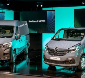Renault обновила микроавтобусы Master и Trafic