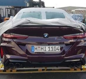 Самую мощную BMW M8 сняли без камуфляжа