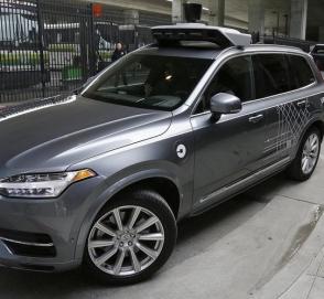 Опубликовано видео смертельного ДТП с беспилотным автомобилем Uber
