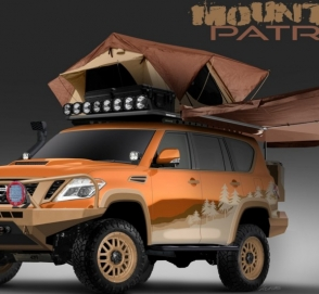 Nissan построил туристический внедорожник