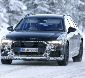 Новая Audi A6 Allroad вышла на тесты