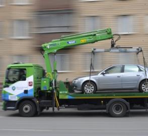 В Киеве запустили сервис для отслеживания эвакуированных автомобилей