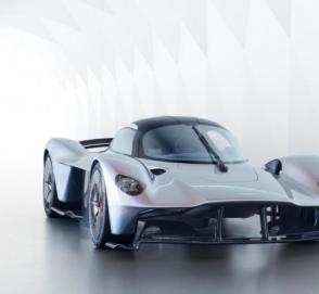 Японский миллиардер раскрыл облик серийного Aston Martin Valkyrie