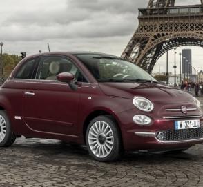 Городской хэтчбек Fiat 500 станет электромобилем