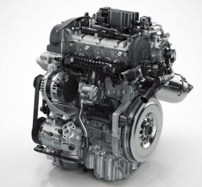 Компания Volvo впервые выпустила трехцилиндровый двигатель