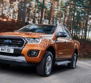 Ford обновил пикап Ranger для Европы