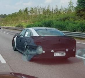 Hyundai Sonata нового поколения замечена во время испытаний