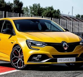 Renault презентует экстремальную версию нового Megane RS