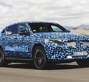 Компания Mercedes-Benz отчиталась об испытаниях электрокроссовера