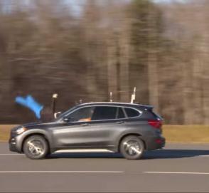 Система распознавания пешеходов на BMW X1 не работает