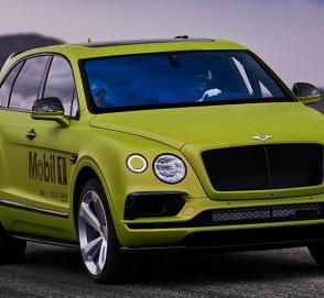Bentley Bentayga готовится к покорению Пайкс-Пик
