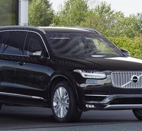 Volvo превратила кроссовер XC90 в 4,5-тонный броневик