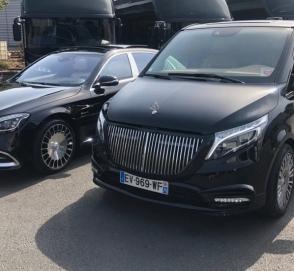Из Mercedes-Benz V-Class сделали Maybach