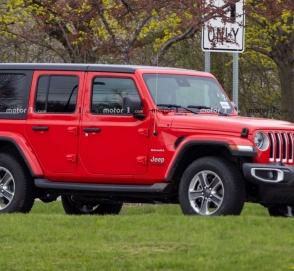 Папарацци заметили Jeep Wrangler с дизельным двигателем