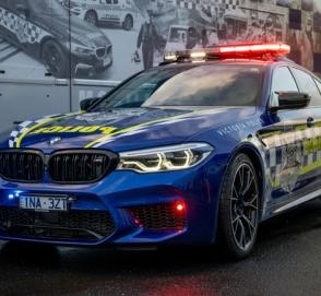 BMW M5 поступил на службу в полицию