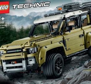 Внешность нового LR Defender раскрыли с помощью Lego