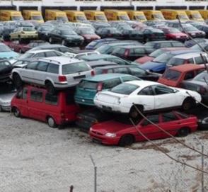 В Германии свалки переполнены старыми дизельными автомобилями