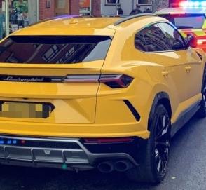 Водитель пытался выдать Lamborghini Urus за Volkswagen Golf