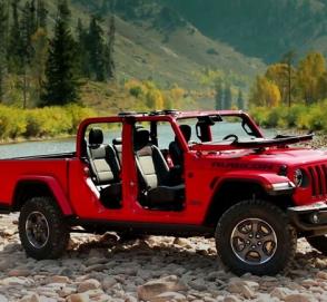 Началось производство пикапа Jeep Gladiator