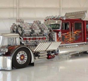 Что из себя представляет 3500-сильный тягач 27,9-литровым мотором