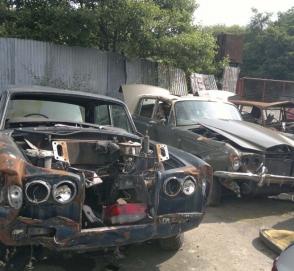 Великобритания превращается в склад заброшенных автомобилей