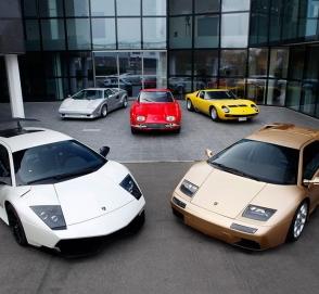 Как «эволюционировали» автомобили Lamborghini