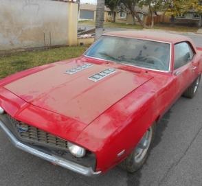 На eBay выставили Camaro 1969 года который простоял в ангаре 20 лет