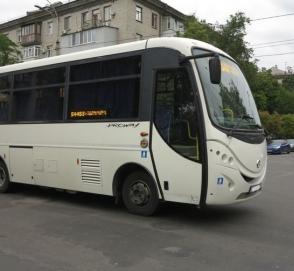 В Украине замечен редкий автобус уже несуществующей марки