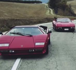 Четыре самых известных спорткара XX века показали в одном видео