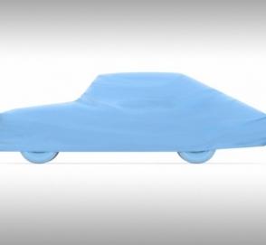 Революционный автодизайн 50-х воплотили в макете машины 65 лет спустя