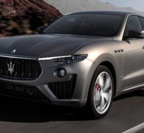 В Украину привезли очень редкую Maserati Levante