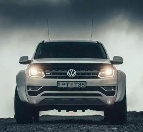 Фирма Arctic Trucks построила лифтованный VW Amarok с кофеваркой