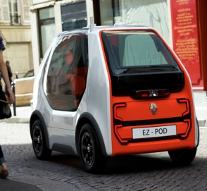 Renault представил миниатюрный автономный электромобиль EZ-POD
