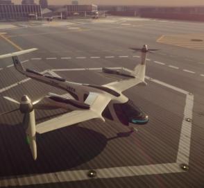 Uber будет разрабатывать летающий автомобиль во Франции
