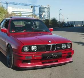 Болгарское ателье построило BMW M3 с салоном в стиле Golf GTI