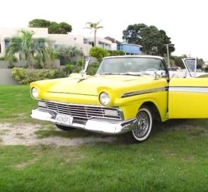 Ford 1957 года выпуска стал электрокаром