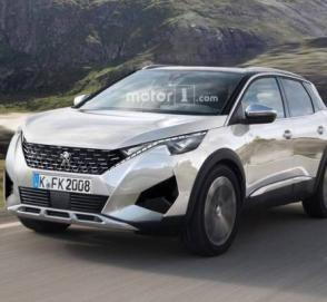 Опубликованы первые изображения Peugeot 2008 нового поколения