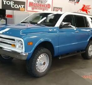 Chevrolet Tahoe специально «состарили» на 50 лет